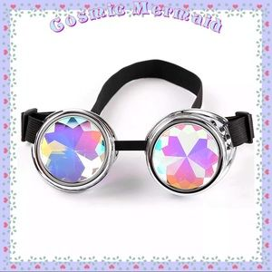 Other - 🆕🧿 Silver Rainbow Steampunk Design Lenses🧿Funky
